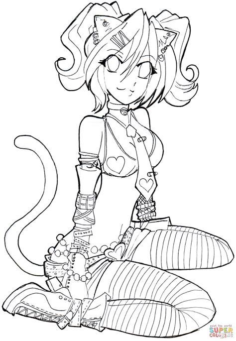 Printable among us anime coloring pages. Ausmalbild: Lucy | Ausmalbilder kostenlos zum ausdrucken