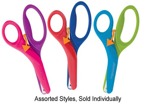 preschool scissors fiskars preschool scissors assorted color 037601 916