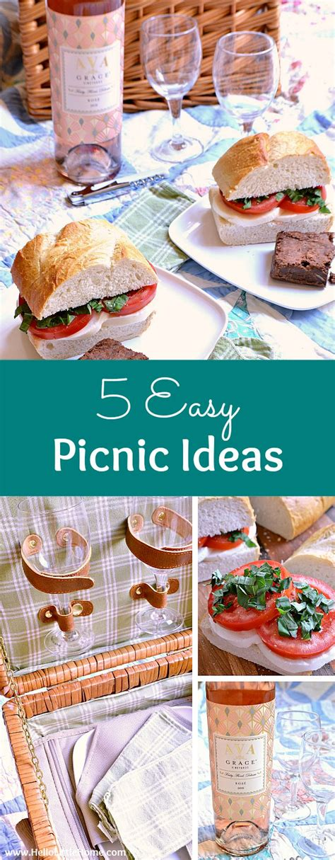 best picnic ideas 5 easy picnic ideas for the perfect summer day