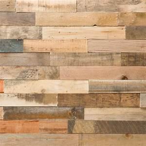 lambris 3d bois de recup vernis naturel bourguignonbois With parquet recup