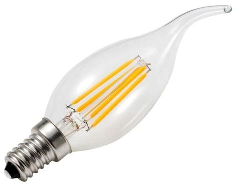 bright path led candelabra e12 dimmable edison style bulb