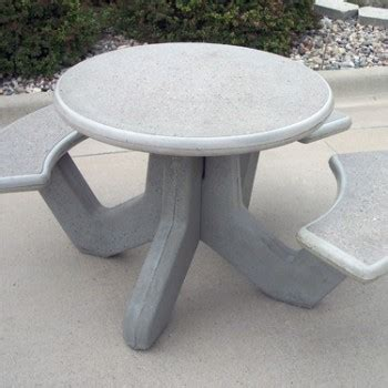 precast concrete picnic tables round precast concrete wheelchair accessible picnic table