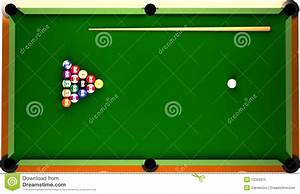 Billiard Table Stock Illustration  Illustration Of Large