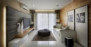 Wohnzimmer Holz Modern : modern wohnen 105 einrichtungsideen f r ihr wohnzimmer ~ Indierocktalk.com Haus und Dekorationen