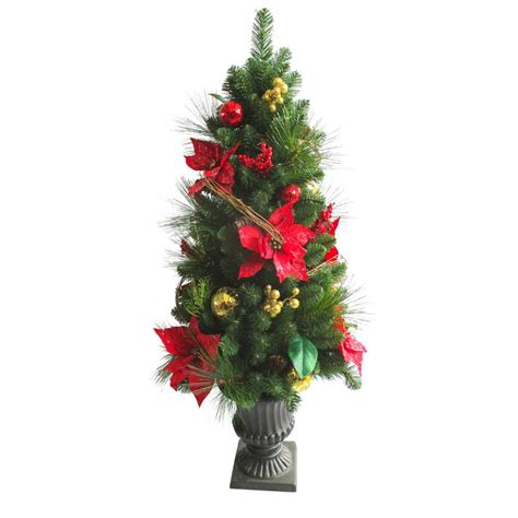 artificial christmas trees christmas trees  home depot
