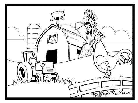 farm coloring pages coloringpages