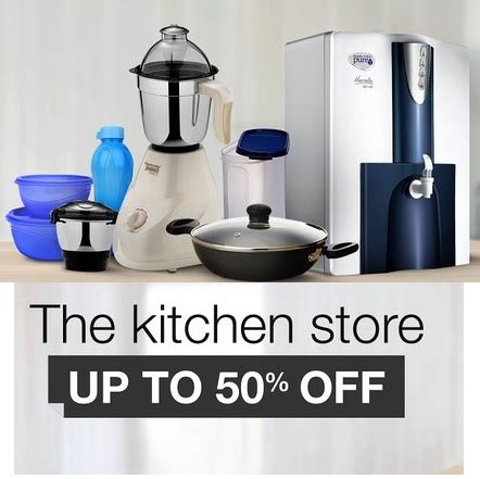 Snapdeal  Get Upto 50% Off On Kitchen Products