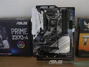 Asus Unveils Rog  Prime And Tuf Z370 Motherboards For