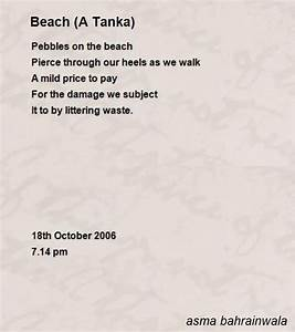 beach a tanka poem by asma bahrainwala poem hunter With tanka poem template