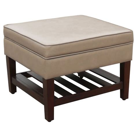 Target Ottomans Footstools by Newtown Storage Ottoman With Wood Slats Threshold Ebay