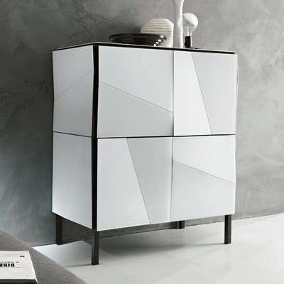 Small Mirrored Sideboard by Psiche Mirrored Small Sideboard Robson Furniture
