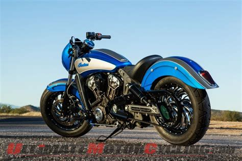 Indian Scout 42 By Dirty Bird Concepts Debut