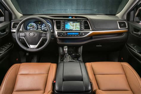 toyota highlander interior 2017 toyota highlander 8 things to motor trend