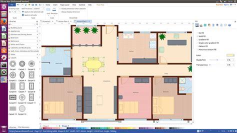 sweet floor plan software  linux design floor plan