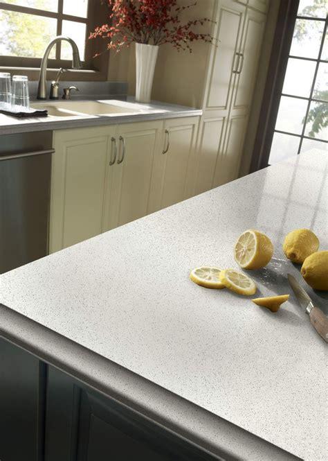 zodiaq snow flurry quartz kitchen countertops kitchen