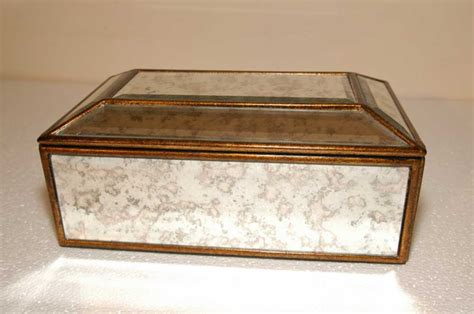 deco jewellery box deco mirrored jewellery box mirror glass