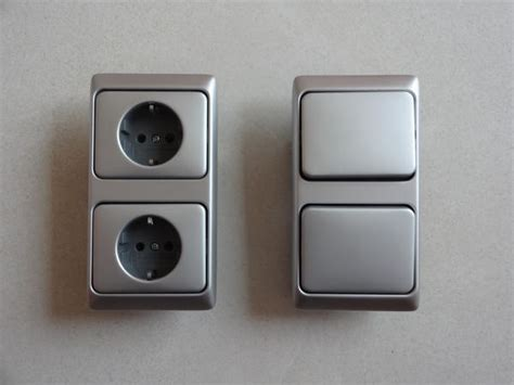 busch jäger doppeltaster sehr gut erhaltene und sch 246 ne funktionierende busch j 228 ger artikel in attraktiver farbe silber