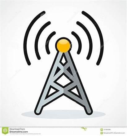 Broadcast Clipart Icon Het Icona Vectorontwerp Wifi