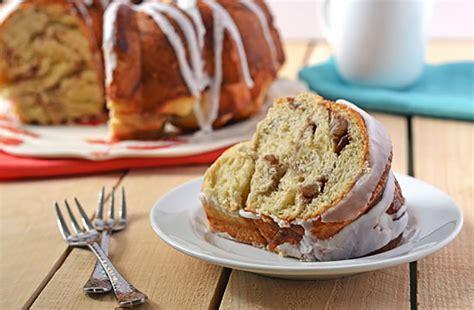 Salt 6 egg yolks 2 c. Honey Swirled Coffee Cake recipe   Red Star Yeast