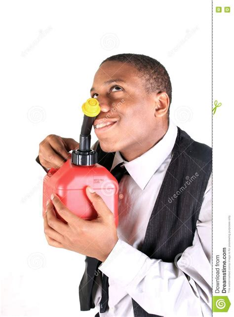 smelling gas stock  image