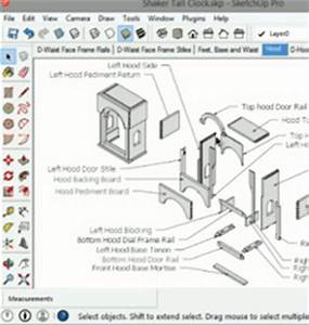 Image Gallery sketchup woodworking