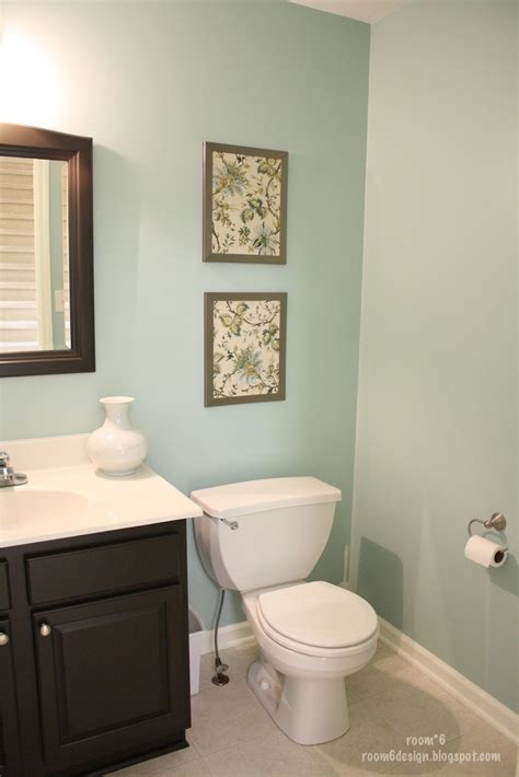 paint colors with brown tile bathroom paint colors blue
