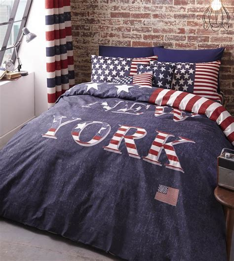 Housse Couette New York Housse De Couette 240x220 Cm Taies New York