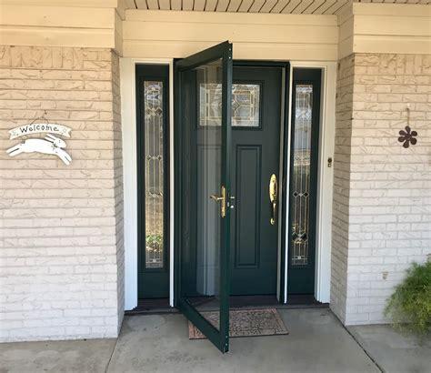New Front Door System Upgrades Entryway   Pella of Oklahoma