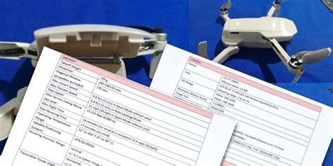 dji mavic mini specs leaked drone     grams