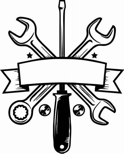Mechanic Garage Furniture Amee Repair Svg Logotipo