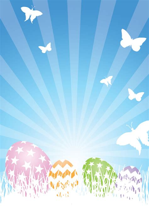easter  poster templates backgrounds