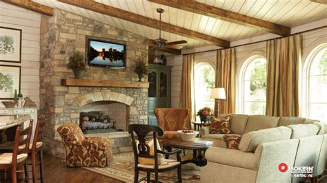 rustic traditional living room isokern fireplaces traditional living room Rustic Traditional Living Room