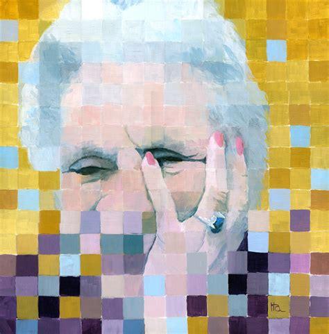fractured  portrait  alzheimers sold ria hills