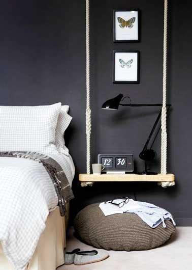 deco chambre original un chevet déco original à faire soi même pour la chambre