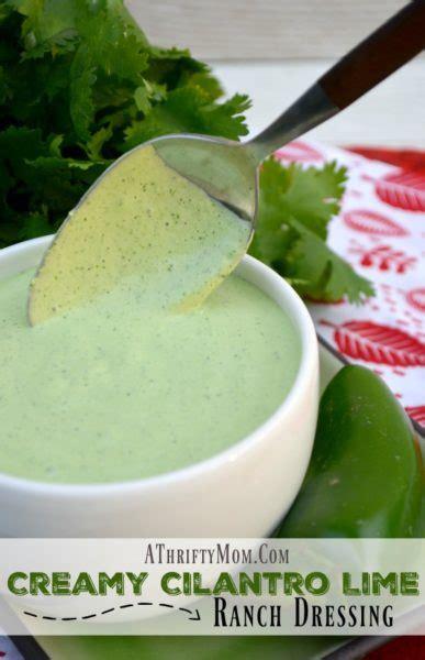 creamy cilantro lime ranch dressing recipe   minutes