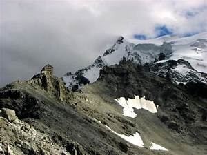 Rifugio Julius Payer And Ortler Itself In The Background