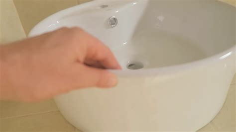 fix in porcelain sink cracked porcelain sink repair or youtube