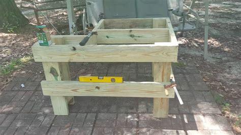 build  easy shooting bench youtube