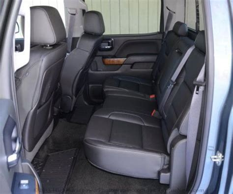 rear seats    gmc sierra  slt wd crew