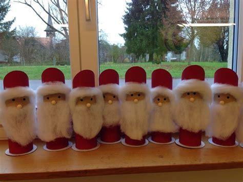 Fensterbilder Weihnachten Kindergarten by Nikolaus Weihnachtsmann Bastelideen Kindergarten