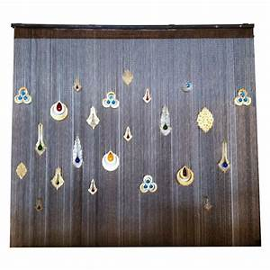 Wall Curtain with Colored Glass at 1stdibs