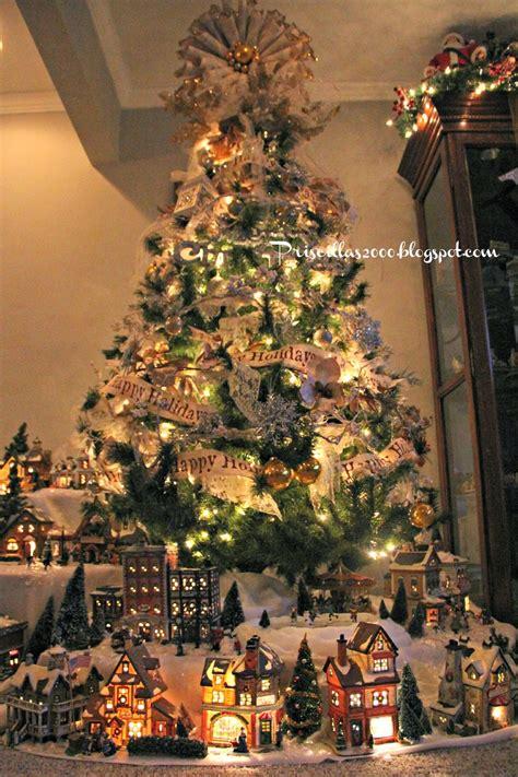 priscillas christmas village 2013