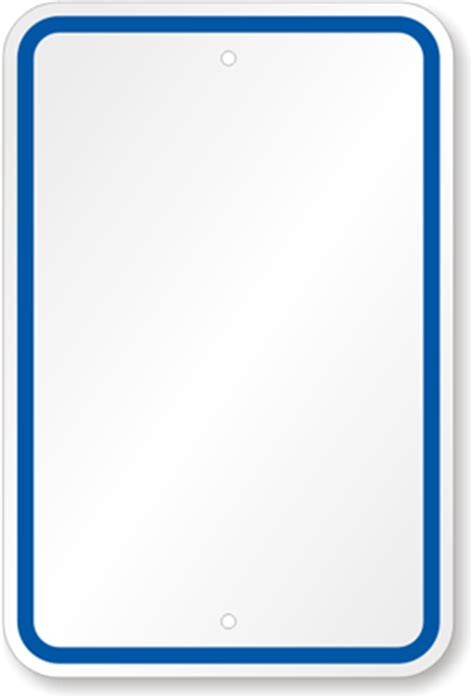 Blank Sign (customize), Blue Printed Border , Sku K4720. Lemonia Signs. Hormone Signs. Canadian Signs. Today Lettering. Business Logo Stickers. Road Signs Of Stroke. Bisected Murals. Signature Lettering