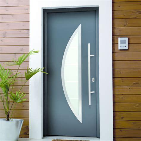 porte d entrée en metal portes d entr 233 e en acier pleines ou vitr 233 es aquarel