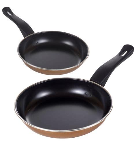 set  copper  frying pans  stick frying pans