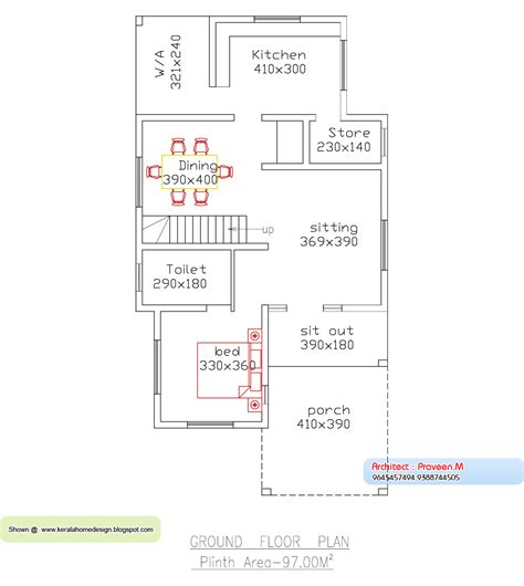 sq ft house plans kerala style homes   budget
