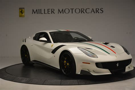 Ferrari reveals the f12tdf which pays homage to the tour de france, the legendary endurance road race that ferrari dominated in designed by the ferrari styling centre, the new f12tdf has particularly imposing yet sensual forms, the product of ferrari's. Pre-Owned 2017 Ferrari F12tdf For Sale ($995,900)   Miller Motorcars Stock #4564C