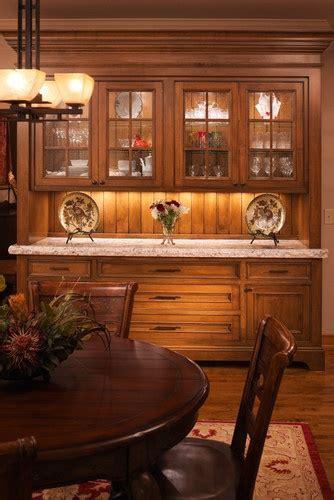 traditional home built  buffet idea   taller