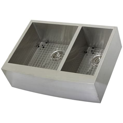 Where Are Ticor Sinks Manufactured by Ticor S4409 Apron Curved Front Stainless Kitchen Sink