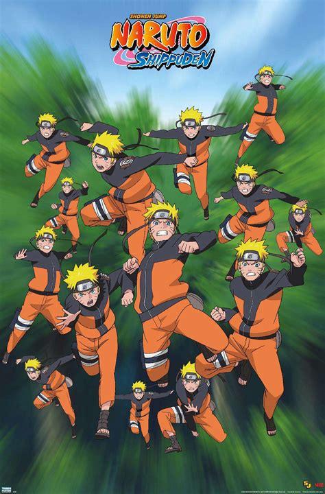 Naruto Poses Poster